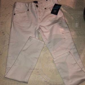 Little Girls super skinny jeans Stain Resistant